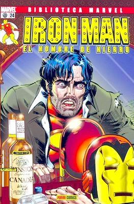 Biblioteca Marvel: Iron Man (2005-2008) (Rústica 160 pp) #24