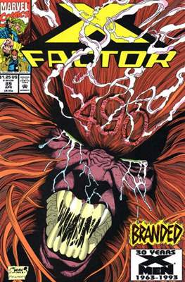 X-Factor Vol. 1 (1986-1998) (Comic Book) #89