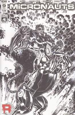 Micronauts (2016-2017 Variant Cover) (Comic Book) #9.1