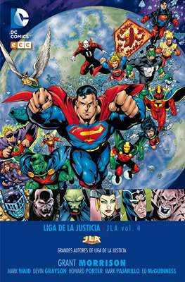 Grandes Autores de Liga de la Justicia: Grant Morrison #4