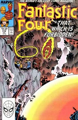 Fantastic Four Vol. 1 (1961-1996) (saddle-stitched) #316