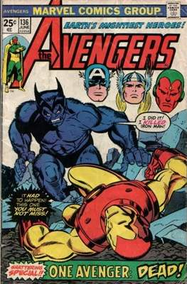 The Avengers Vol. 1 (1963-1996) (Comic Book) #136