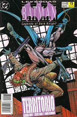 Leyendas de Batman. Legends of the Dark Knight (Grapa (1990)) #43