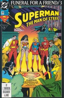 Superman: The Man of Steel (Comic book) #20
