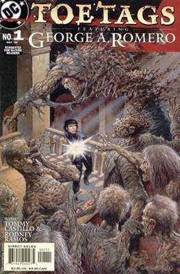 Toe Tags Featuring George A. Romero (Comic Book 24 pp) #1