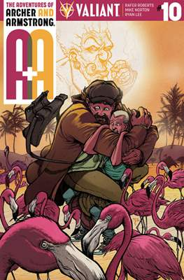 The Adventures of Archer and Armstrong (Comic Book) #10