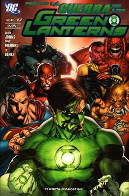 Green Lantern (2009-2012) (Grapa 72 pp) #17