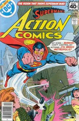 Action Comics Vol. 1 (1938-2011; 2016-) (Comic Book) #490
