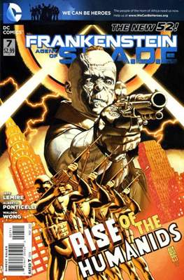 Frankenstein: Agent of S.H.A.D.E. (Comic book) #7