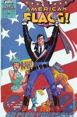 American Flagg! (Comic book) #50