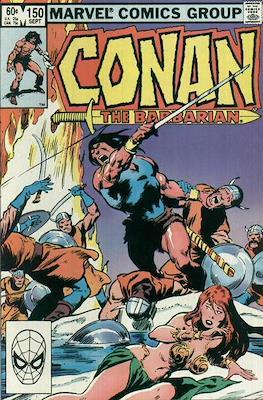 Conan The Barbarian (1970-1993) (Comic Book 32 pp) #150