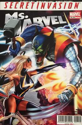 Ms.Marvel Secret Invasion (Grapa) #4