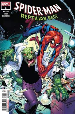 Spider-Man: Reptilian Rage (Comic Book) #1