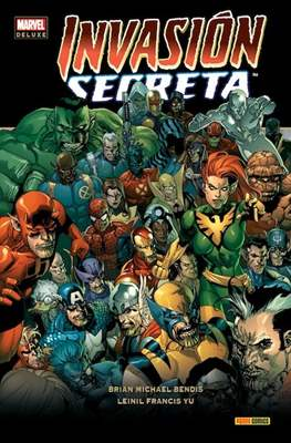 Invasión Secreta. Marvel Deluxe