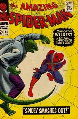 The Amazing Spider-Man Vol. 1 (1963-2007) (Comic-book) #45