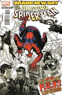 The Amazing Spider-Man Vol. 2 (1999-2014) (Comic-Book) #564