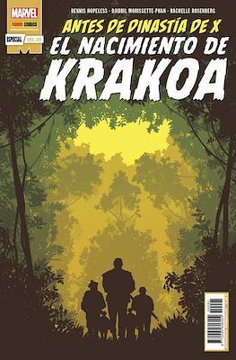 El nacimiento de Krakoa - Antes de Dinastía de X (Grapa 32 pp) #