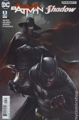 Batman / The Shadow (2017-) Variant Covers (Comic Book) #5.1