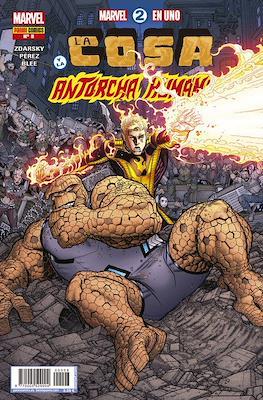 Marvel 2 en Uno: La Cosa y La Antorcha Humana #8
