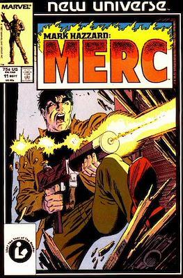 Mark Hazzard Merc (Comic-book.) #11