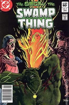 Swamp Thing (1982-1996) (Comic Book) #9