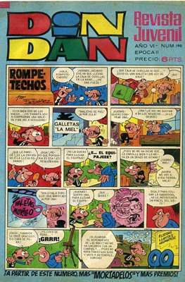Din Dan 2ª época (1968-1975) (Grapa) #190