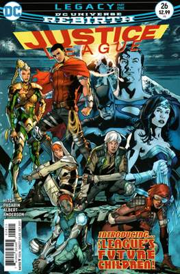 Justice League Vol. 3 (2016-2018) (Comic-book) #26