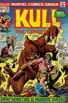 Kull the Conqueror / Kull the Destroyer (1971-1978) #10