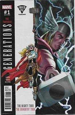 Generations - The Thunder (Variant Cover) (Comic Book) #1.8