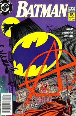 Batman (1987-1993) (Grapa) #45