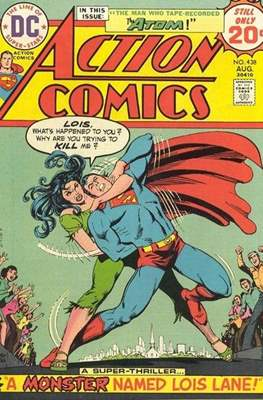 Action Comics Vol. 1 (1938-2011; 2016-) (Comic Book) #438
