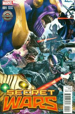 Secret Wars (2015) Variant Covers (Comic Book) #1.3