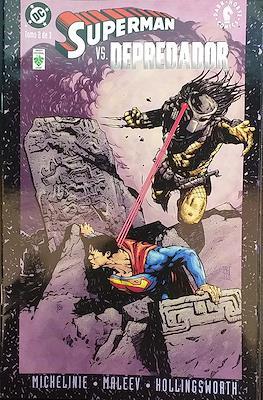 Superman vs Depredador (Grapa) #2