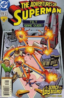 Superman Vol. 1 / Adventures of Superman Vol. 1 (1939-2011) (Comic Book) #579