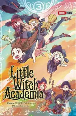 Little Witch Academia (Rústica) #3