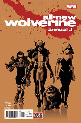 All-New Wolverine Annual