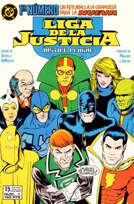 Liga de la Justicia / Liga de la Justicia internacional / Liga de la Justicia de América