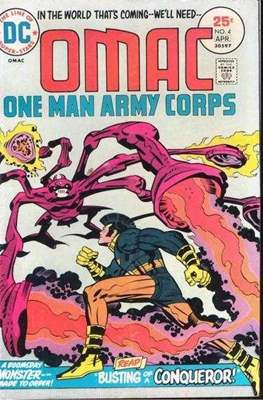 OMAC Vol 1 (Comic Book. 1974 - 1975) #4