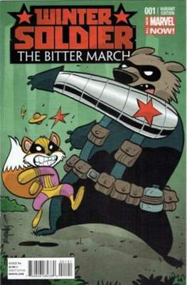 Winter Soldier: The Bitter March (2014 Variant Cover)