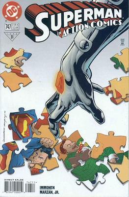 Action Comics Vol. 1 (1938-2011; 2016-) (Comic Book) #747