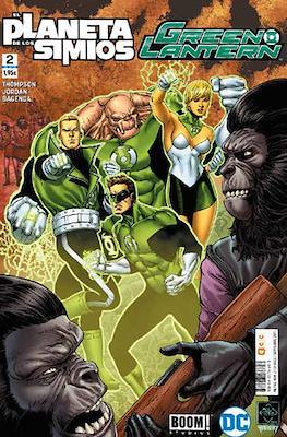Green Lantern / El Planeta de los Simios (Grapa 24 pp) #2