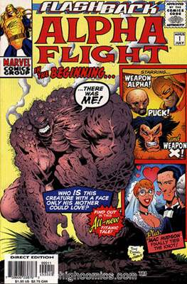 Alpha Flight Vol. 2 (1997-1999)