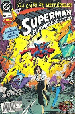 Superman: El hombre de acero (Rústica) #10