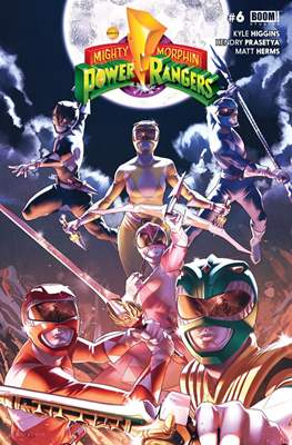 Mighty Morphin Power Rangers (Comic Book) #6