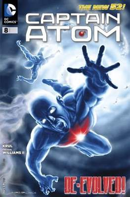 Captain Atom The New 52! (2011-2012) #8