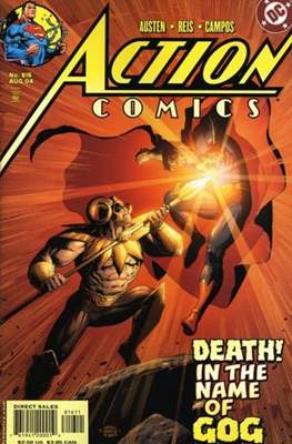 Action Comics Vol. 1 (1938-2011; 2016-) (Comic Book) #816