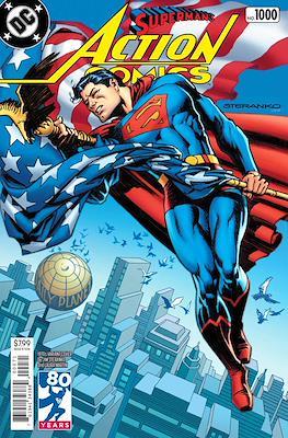 Action Comics Vol. 1 (1938-2011; 2016-... Variant Covers) (Comic Book) #1000.4