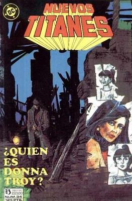 Nuevos Titanes Vol. 1 (1984-1988) (Grapa 40 pp) #34