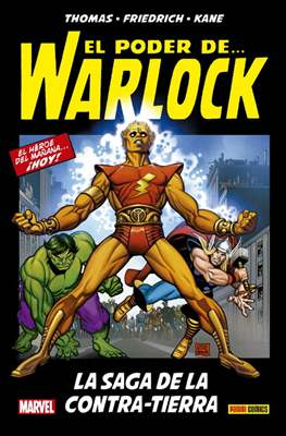 Warlock: La Saga de la Contratierra. 100% Marvel HC (Cartoné 288 pp) #