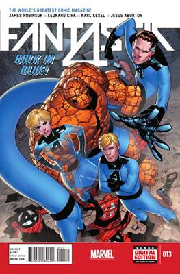 Fantastic Four Vol. 5 (Comic Book) #13